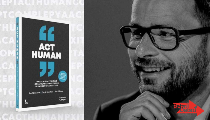 Act Human: co-auteur Karel Demeester